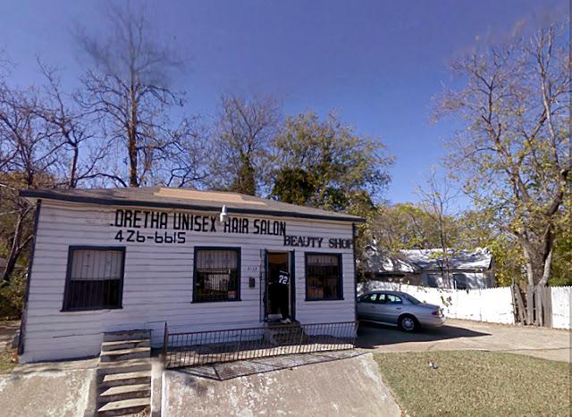 google streetview hair salon