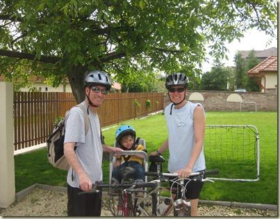 1st bike ride- May 22nd