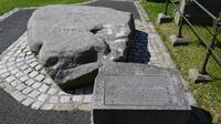 St Patrick's grave-stone