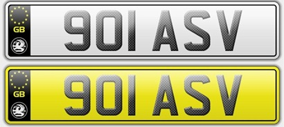 Number Plates 2011