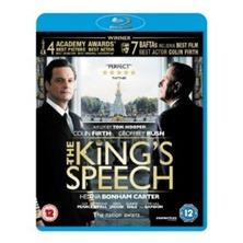 Blu-Ray DVD The Kings Speech