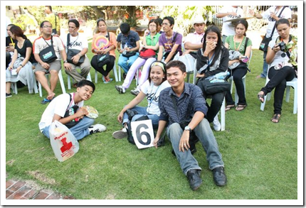 jaysee pingkian with Viaje del Galeon Festival student leaders participants