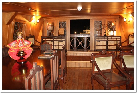 admiral room of the Galleon Andalucia