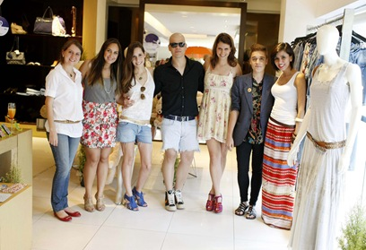 Cristiane Teixeira, Flávia Ruiz, Mayra Pereira, Rafael Faria, Antônia Dornelles, Frederico Dário e Clariana Gonzaga