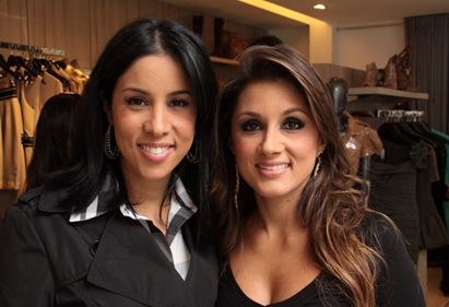 Janaína  e Fabiana Ortiga