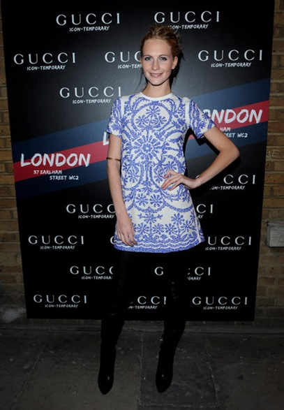 Gucci Icon Temporary London Opening Arrivals sdlyc0Lea4-l