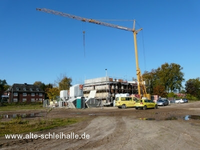 Auf der Freiheit Schleswig Neubau Fischerhaus