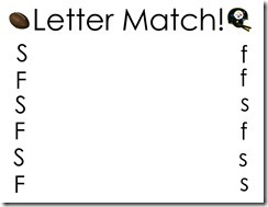 Steeler Letter Match