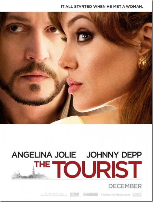 The Tourist poster film