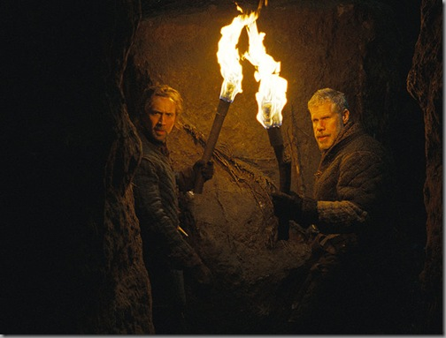 nicholas cage and ron perlman in season of the witch
