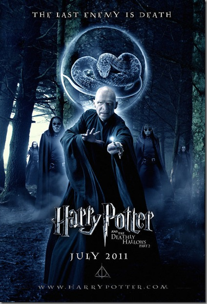 harry potter and deathly hollows - part 2 movie poster