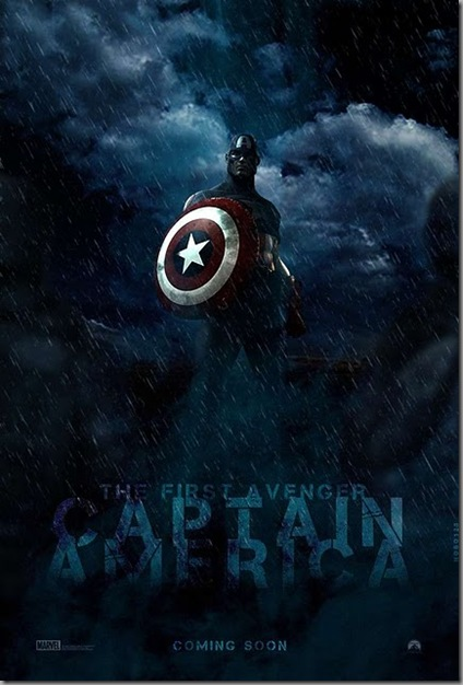 captain america : first avenger movie film poster