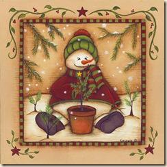 ChristmasSnowmanandminitree