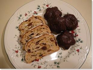 Marzipanstollen and lebkuchen