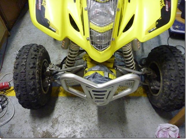cambiar pastillas de frenos delanteras a un quad