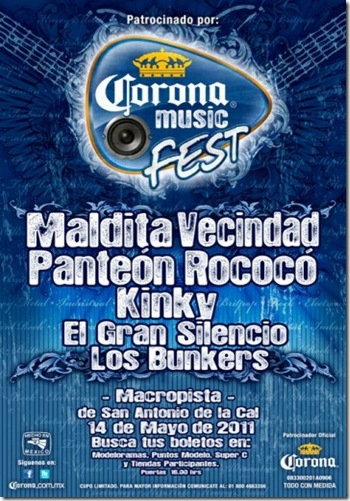 corona musica fest 2011 oxaca