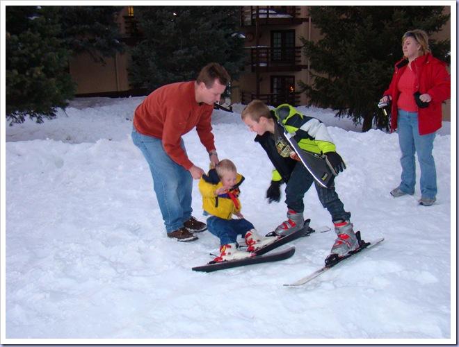 12-31-08 Zane on skis 3