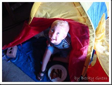 06-18-10 Zane in tent 2