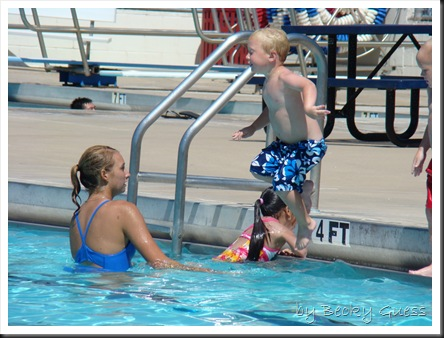 06-25-10 Zane swim lesson 06