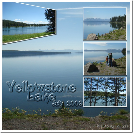 July 09 Yellowstone Lake