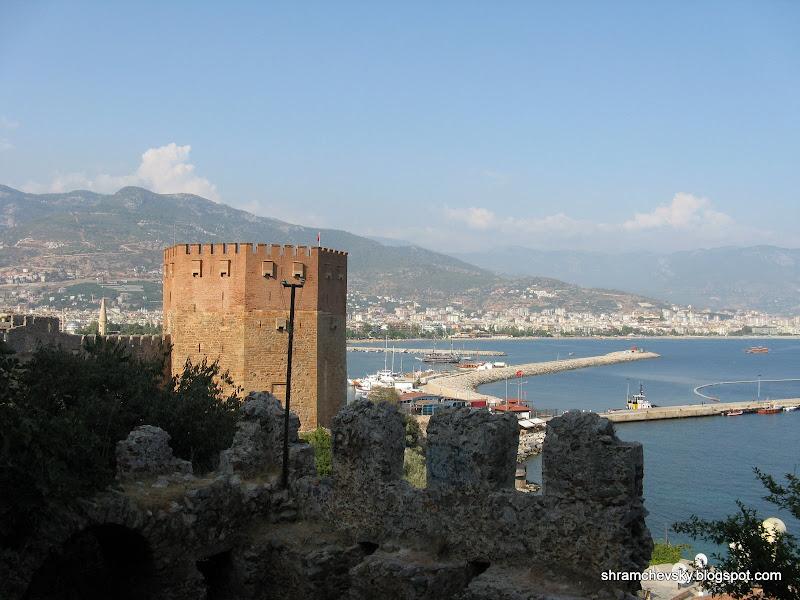 Turkey Alanya Kizil Kule Red Tower Турция Алания Кызыл Куле Красная Башня