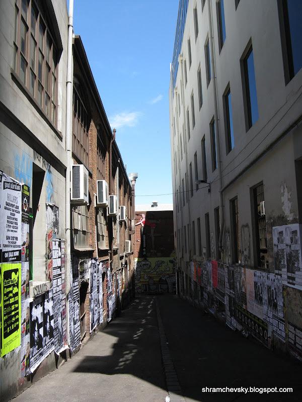 AC DC Lane Melbourne Australia Переулок ЭйСиДиСи ACDC Мельбурн Австралия