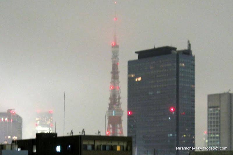 Japan Tokyo TV Tower Eifel Tower Япония Токио Телебашня Эйфелева Башня