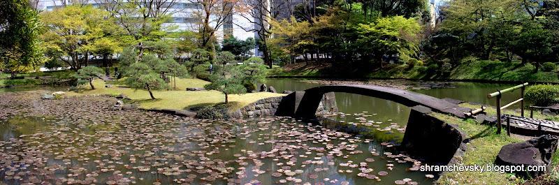 Japan Tokyo Koishikawa Korukaen Gardens Япония Токио Коишикава Корукаен Гарденс Самый Старый Парк