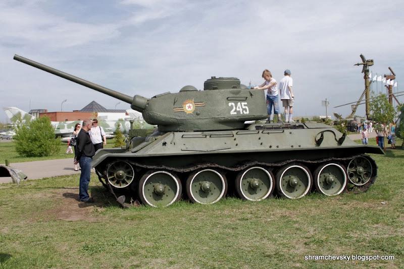 Russian Soviet Tank T-34 Т34 85 Русский Советский Танк T-34 Т34 85 Технический Музей Тольятти