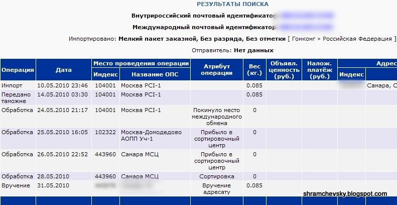 Почта Конверт Пакет Марки Гонконг Россия Ebay Трекинг Tracking