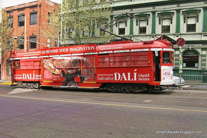 Australia Melbourne Tram Restaurant Австралия Мельбурн Трамвай Ресторан