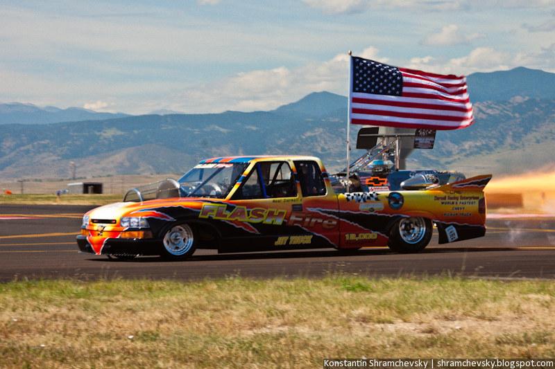 США Колорадо Реактивный Двигатель Автомобиль Пикап Рекорд Скорости