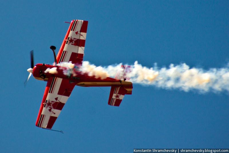 USA Colorado Airshow Sukhoi Su-26 aerobatics Сухой Су-26 Самолёт пилотажный аэробатика