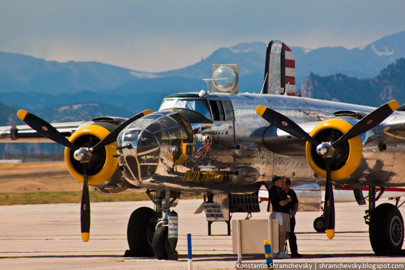 Pacific Prowler B-25 Mitchell USAF Bomber Пасифик Праулер Б-25 Митчелл ВВС США Бомбардировщик