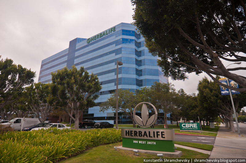 USA California Los Angeles Herbalife Main Office США Калифорния Лос-Анджелес Центр Главный Офис Гербалайфа