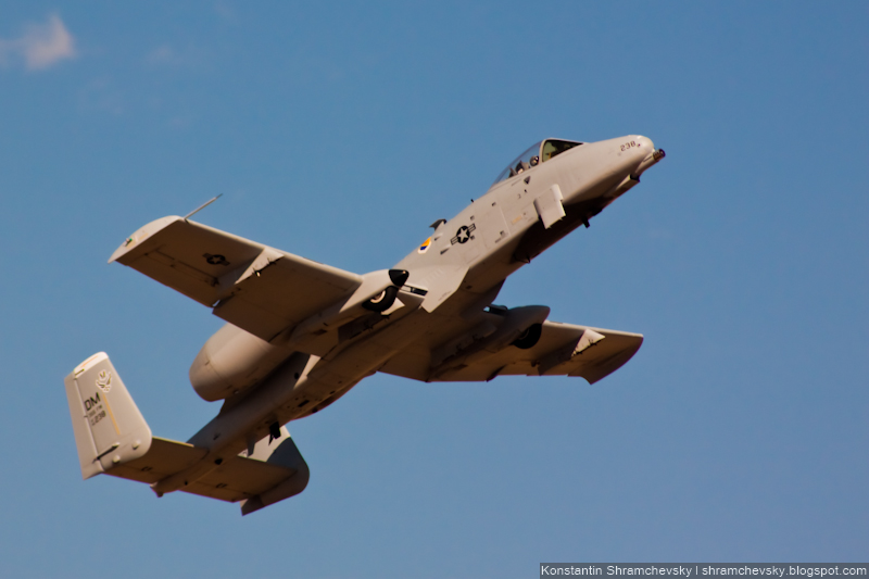 USA Assault Aircraft A-10 Thunderbolt II