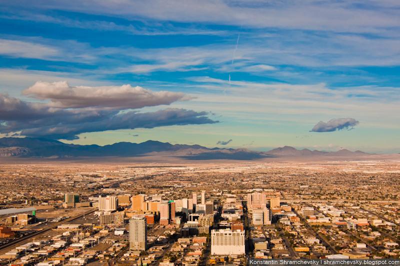 USA Nevada Las Vegas Stratosphere Tower США Невада Лас Вегас