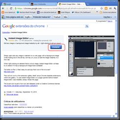Chrome extensões 7