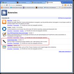 Chrome extensões 9