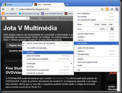 Chrome extensões 3