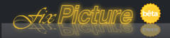 FixPicture Flash - logo