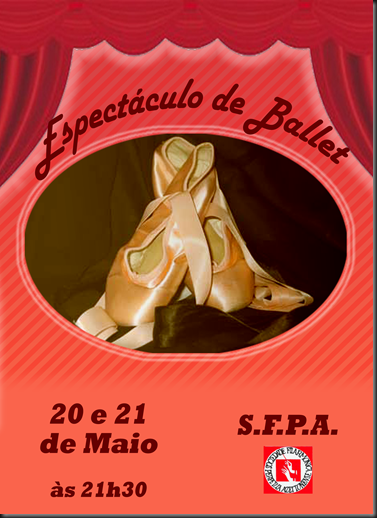 Espectaculo de Ballet Cartaz