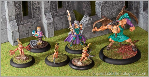 Malifaux The Neverborn - Lilith Gang