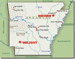 WEINER DELIGHT MAP