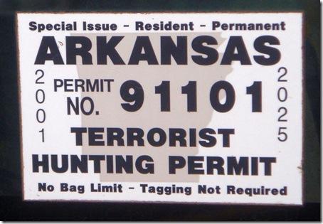 terrorist permit