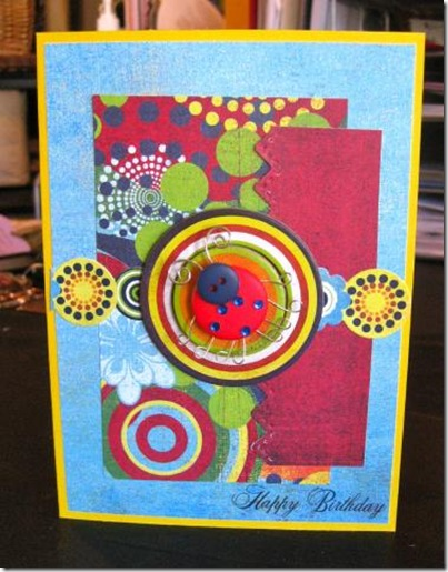 Lady Bug birthday card