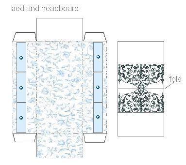 Recortable habitaci n de los ni os de casas de mu ecas for Muebles de carton pdf
