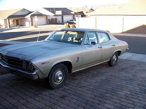 was my 69 Chevelle 4 door,