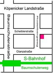 Karte Baumschulenweg (c) Club im Kietz e.V.