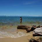 Weihnächtliches Bad beim Abel-Tasman-Nationalpark